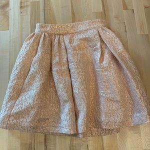 Kate Spade glitter pink skirt 00 Skirt the Rules